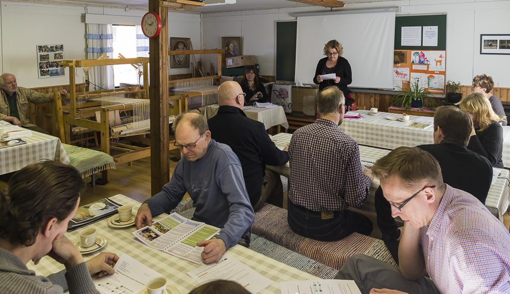 Mikkelin kylätoimijoiden tapaaminen Sampolassa