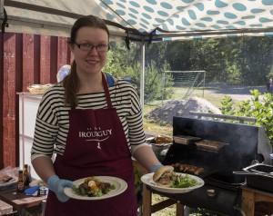Emman grilliherkkuja: Kanapekonirulla ja PulledPork Slider